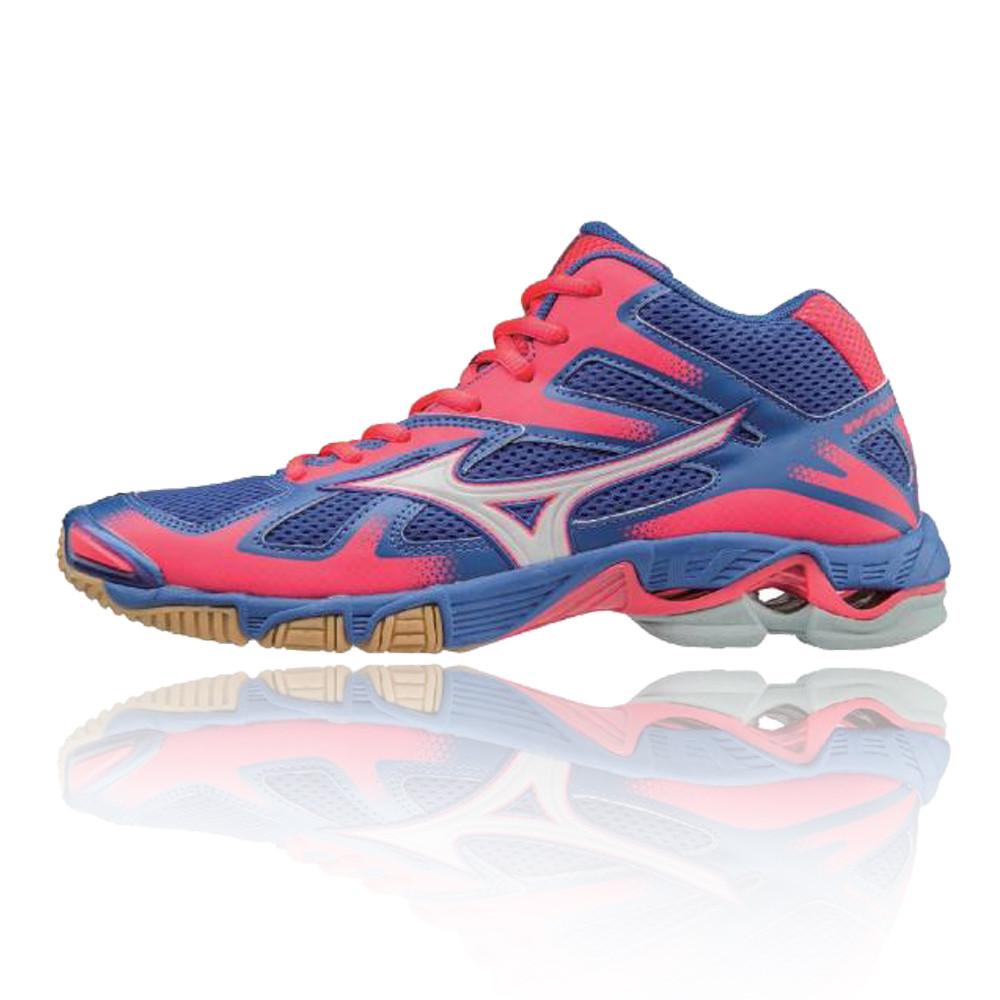 Mizuno Wave Bolt 5 Mid Women's Indoor Court Shoes