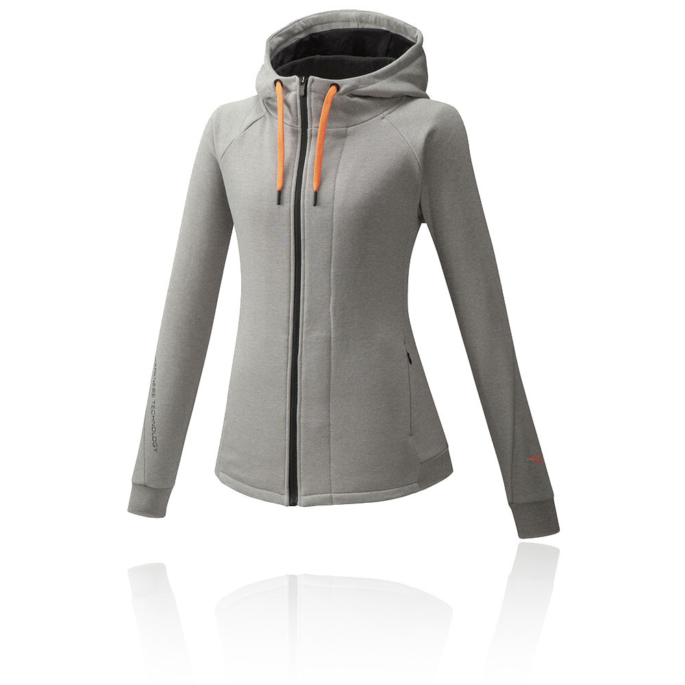 Mizuno Athletic zip per donna Hooded giacca - AW20