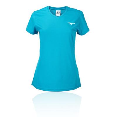 Black Sports Running Gym Breathable Mizuno Mens RB Logo T Shirt Tee Top