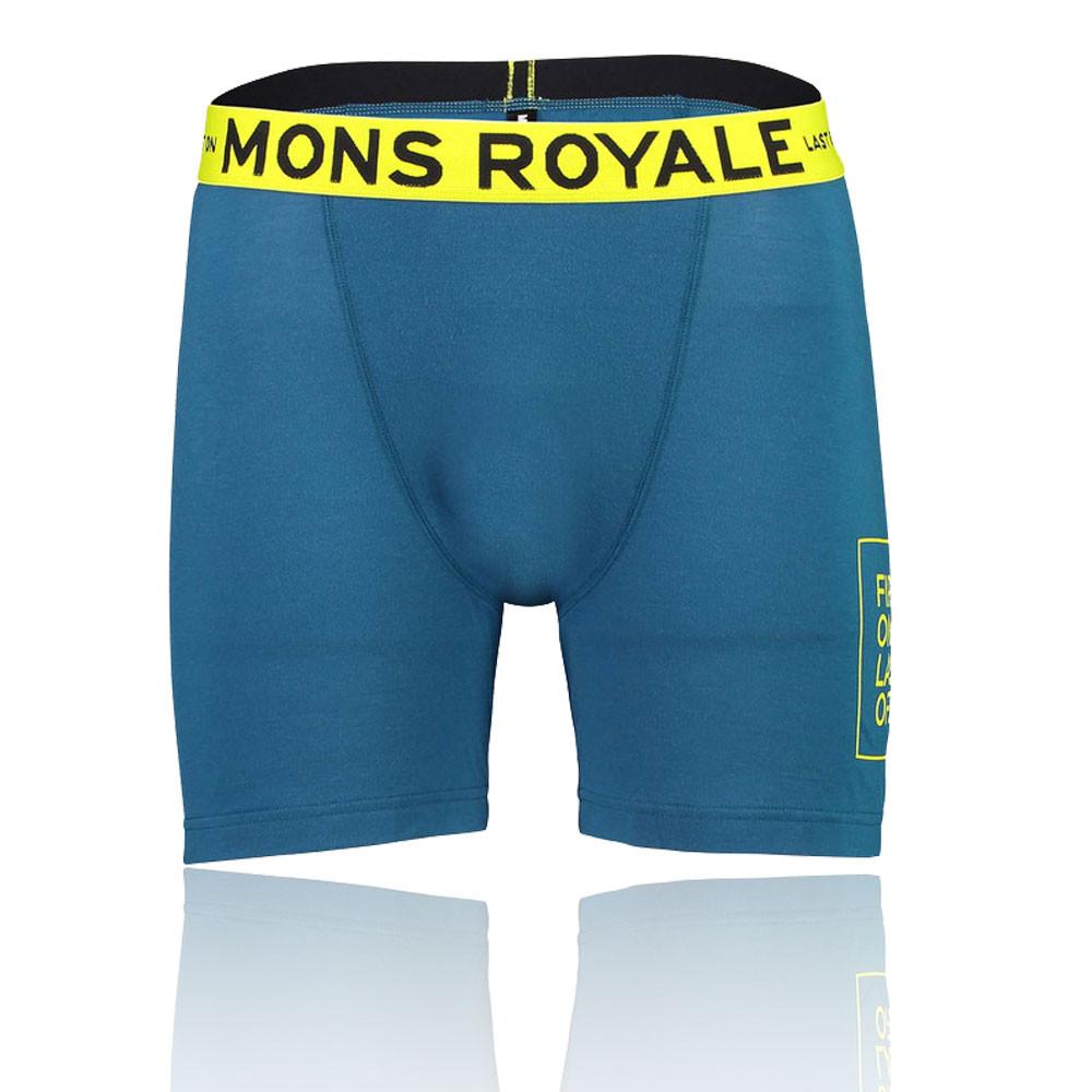 Mons Royale Hold'Em Boxer Shorts - SS19