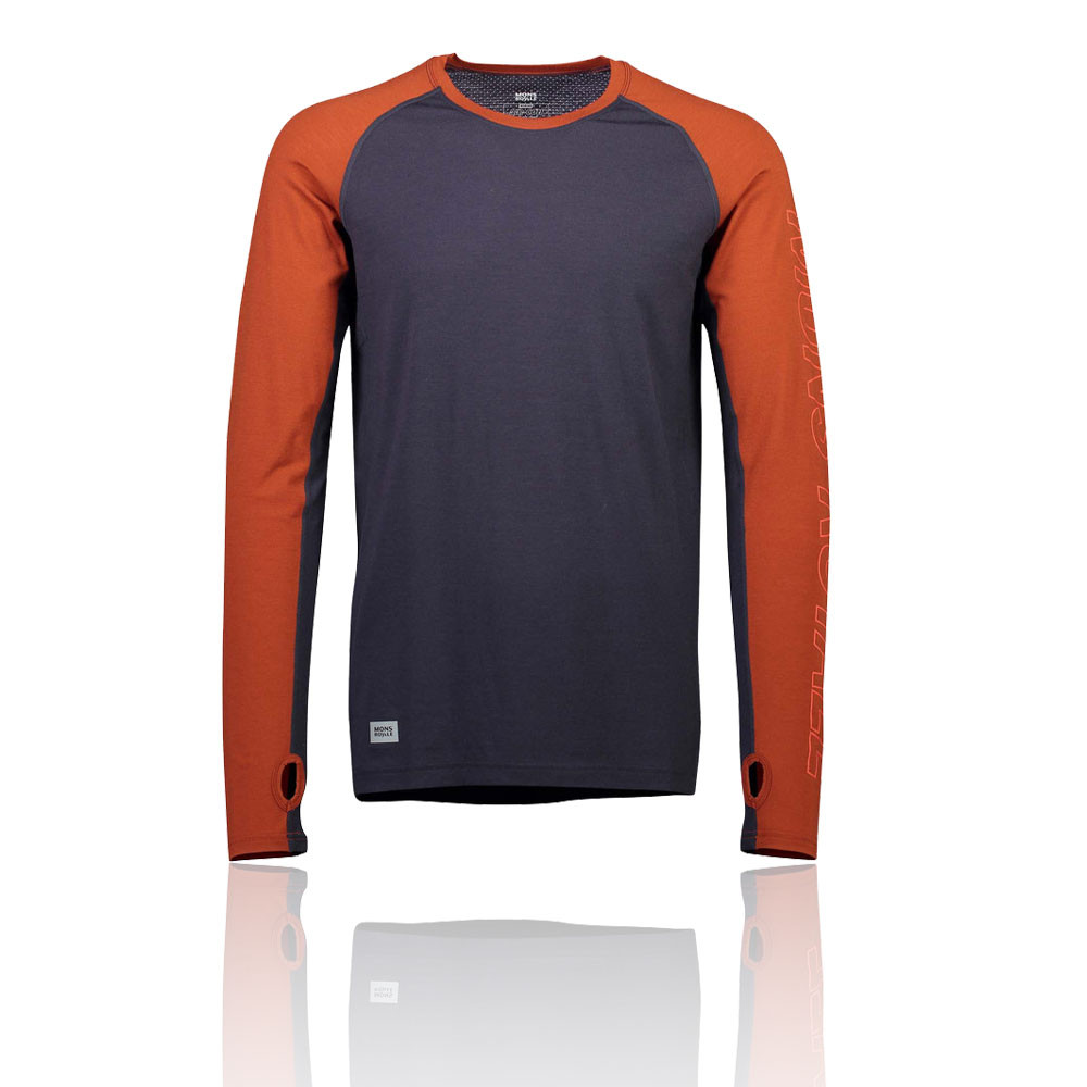 Mons Royale Temple Tech Long Sleeve Top - SS19