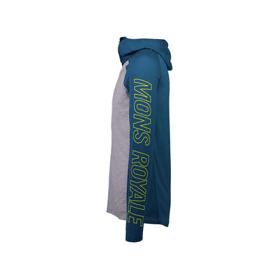 Mons Royale Temple Tech Hooded Top - AW19