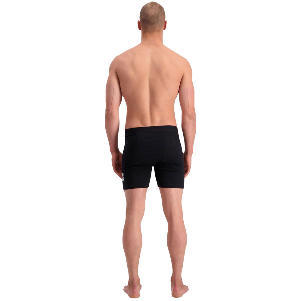 Mons Royale Mens Hold /'em Shorty Boxers Black Sports Running Outdoors Gym Warm
