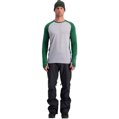 Mons Royale Temple Tech Long Sleeve Top - AW19