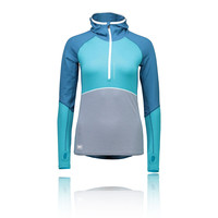Mons Royale Checklist Women's Long Sleeve Hooded Top - SS18