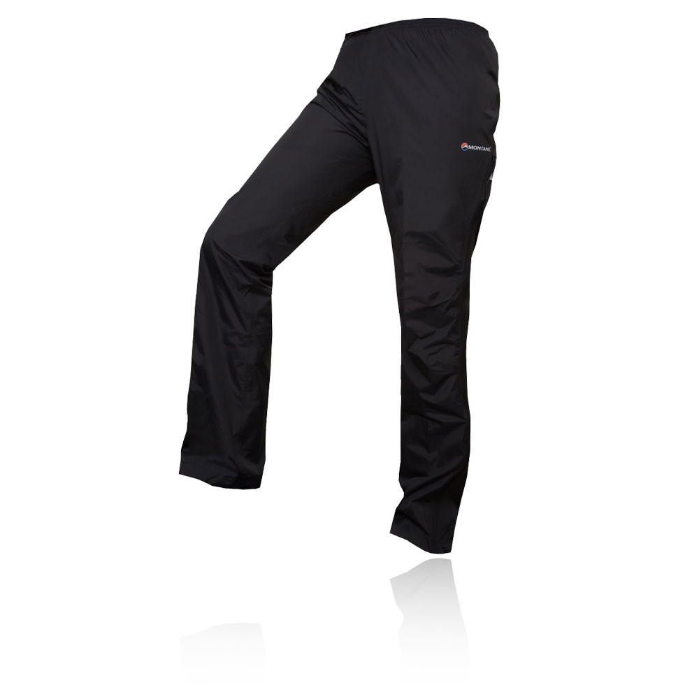 Montane-Atomic-Mujer-Negro-Impermeable-Exterior-Trekking-Pantalones-Casual