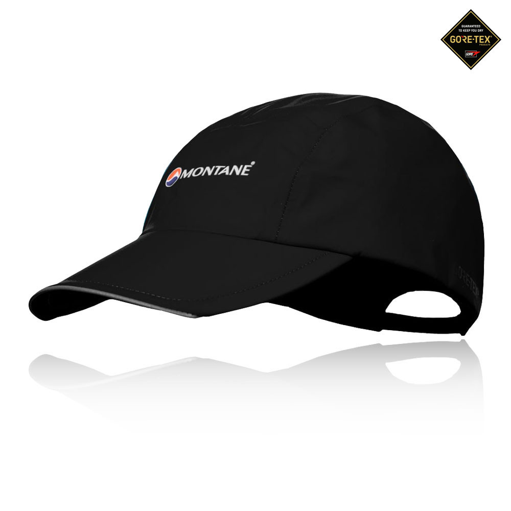 Details about Montane Spine Mens Black Waterproof Running Sports Summer Hat  Baseball Cap c6c263c82de
