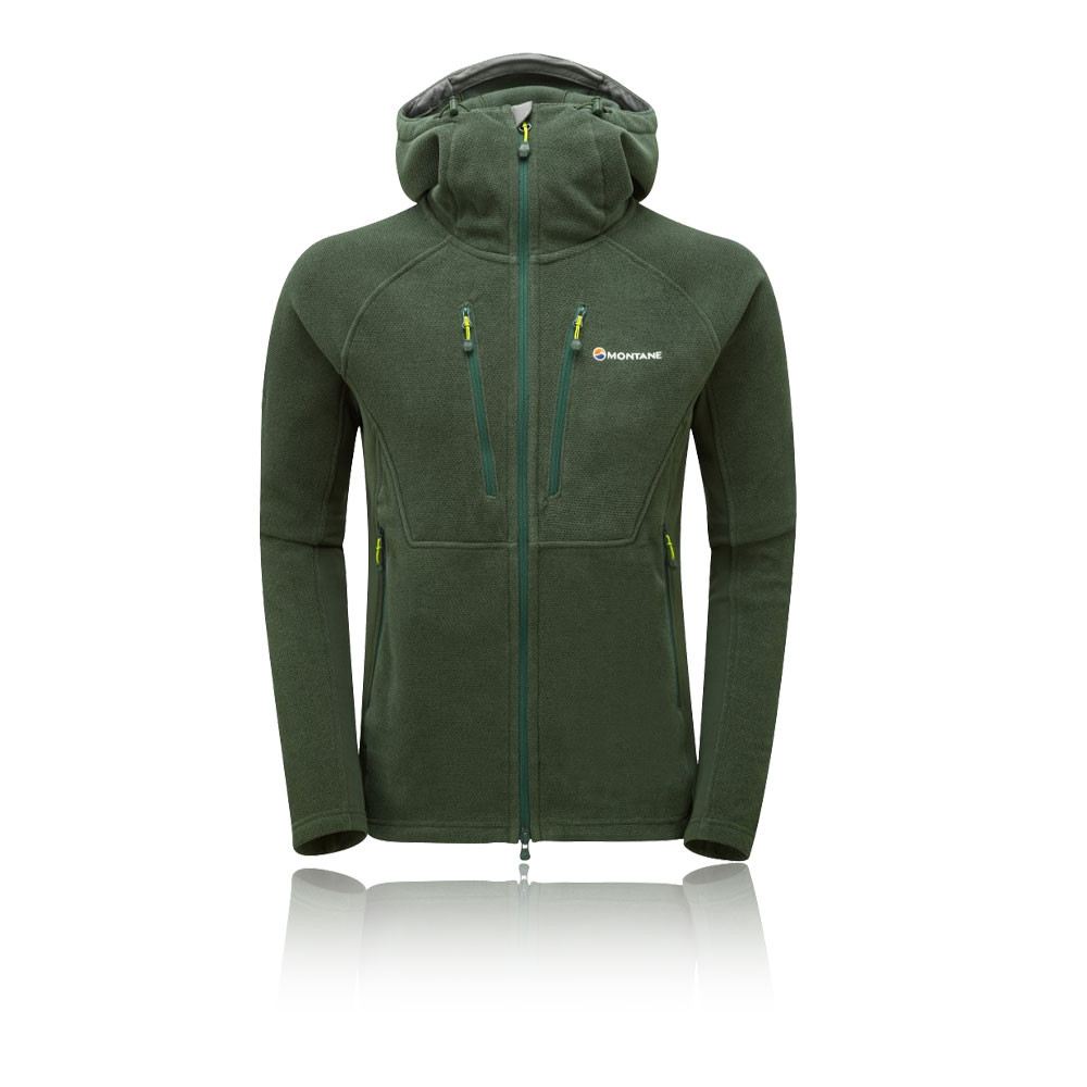 a84b2a57b3ed Details about Montane Mens Volt Alpiniste Jacket Top Green Outdoors Sports  Full Zip Hooded
