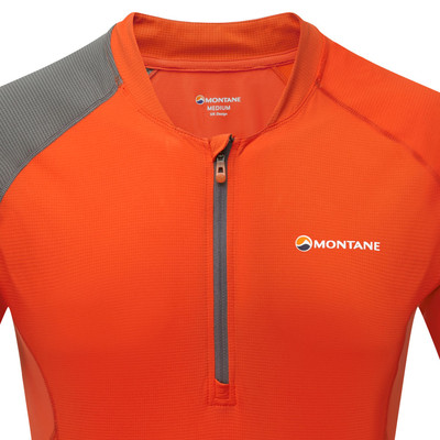 Montane VIA Fang zip t-shirt de running - SS20