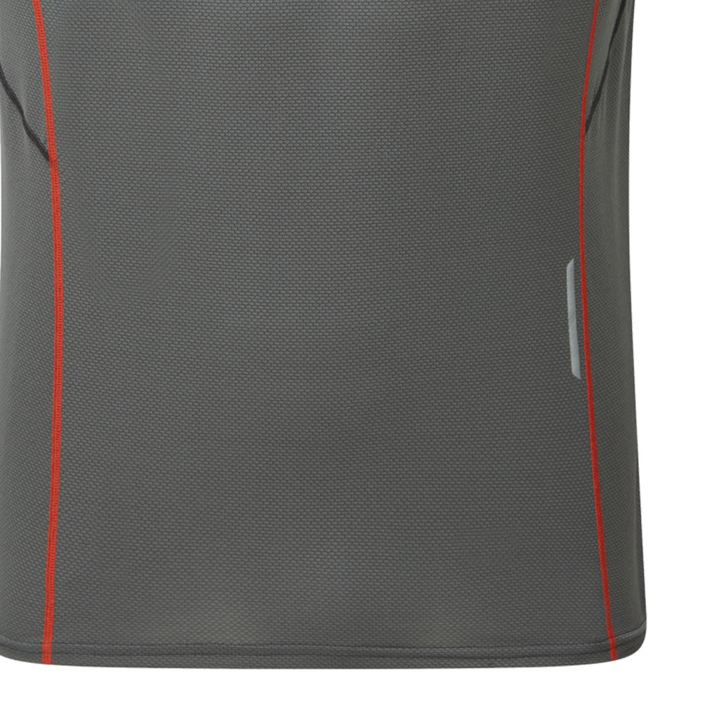 Herren Montane Herren Razor Langarm T Shirt Outdoor Sport Top Funktionsshirt Grau Camping & Outdoor