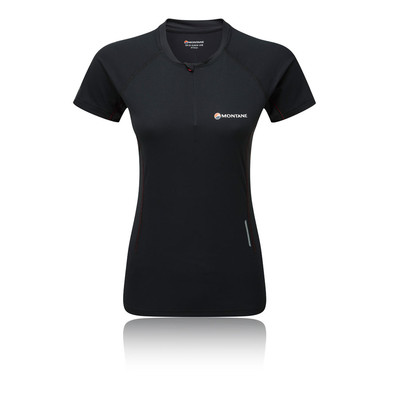 Montane VIA Snap Zip Women's T-Shirt - AW19