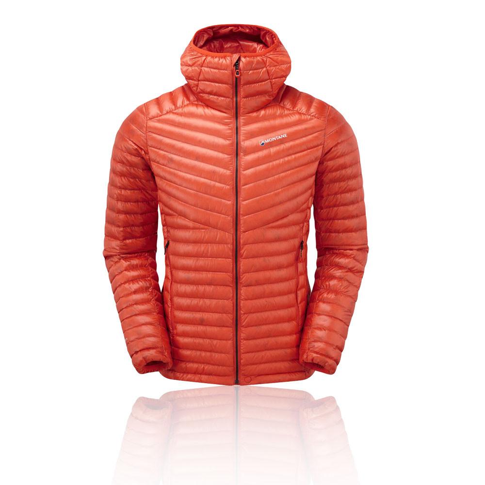 Details zu Montane Herren Future Lite Jacke Winterjacke Orange Sport Kapuze Outdoor Wandern