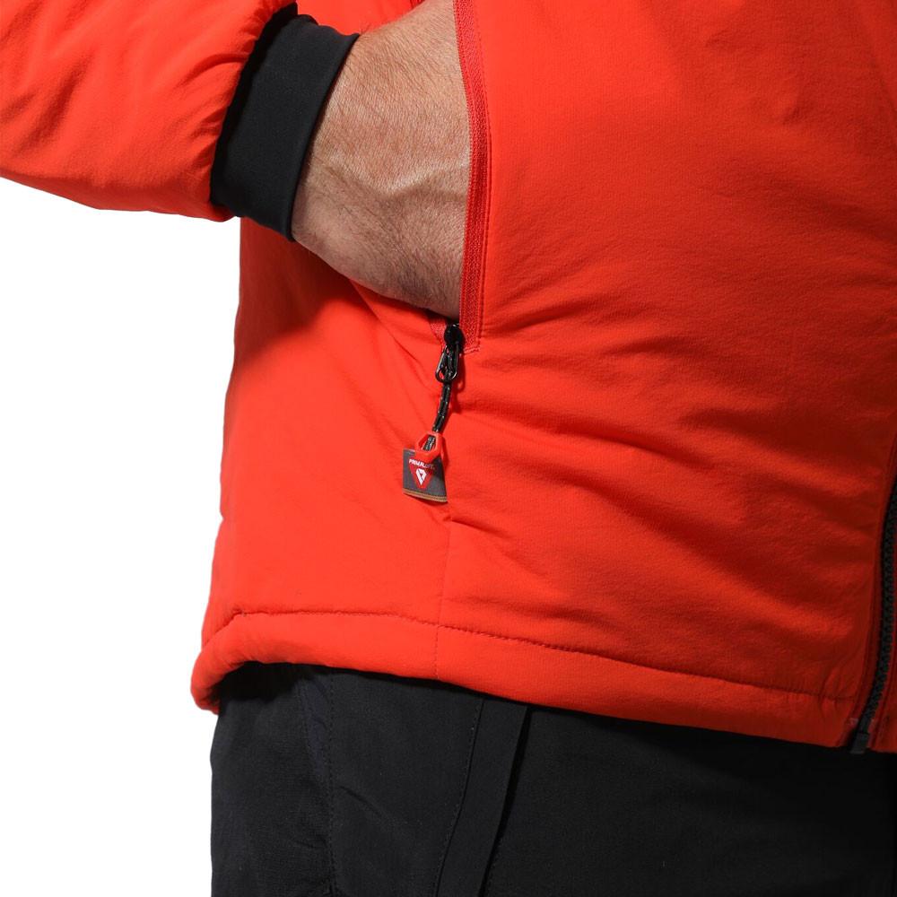 Montane Homme boule Veste Haut-Orange Sports Outdoors FULL ZIP à Capuche Chaud