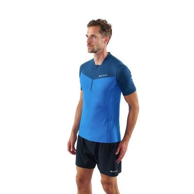 Montane VIA Dragon Zip T-Shirt - SS21