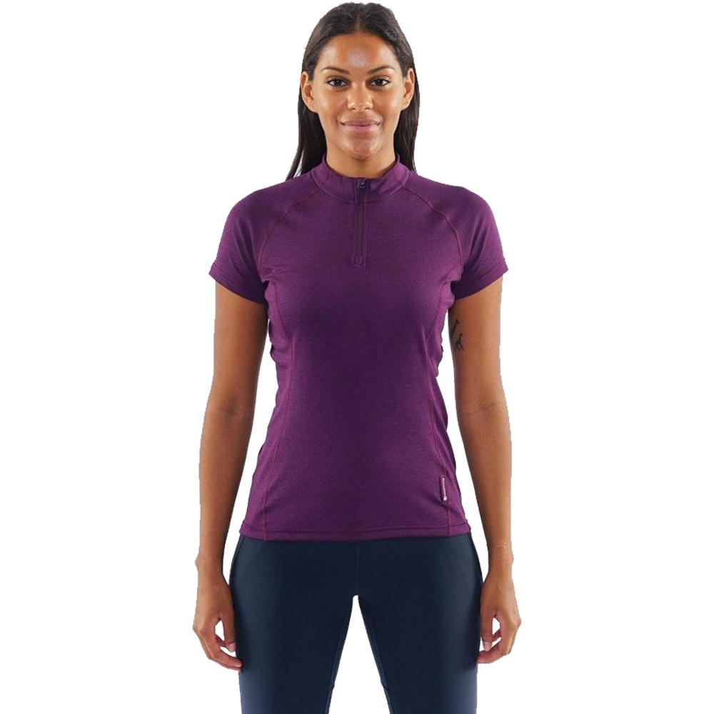 Montane Dart zip femmes T-Shirt - SS21