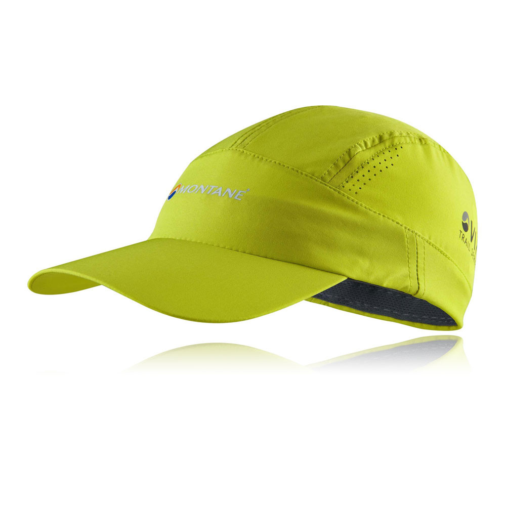0262987b81c Montane Coda Mens Womens Green Outdoors Running Baseball Summer Cap ...