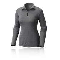 Mountain Hardwear Wicked Women's Printed Long Sleeve Zip T-Shirt