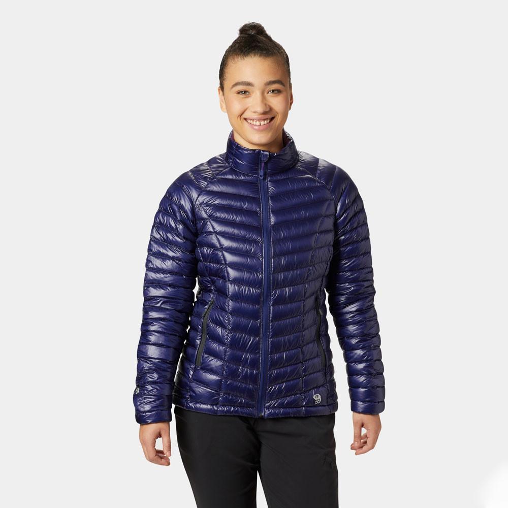 Whisperer Détails Femmes Blouson Sur Bleu Mountain Hardwear Sport Top Doudoune Ghost De 35qjAL4R