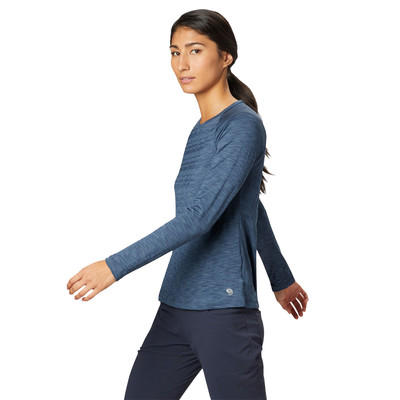 Mountain Hardwear Mighty Stripe Women's Long Sleeve Top - SS19
