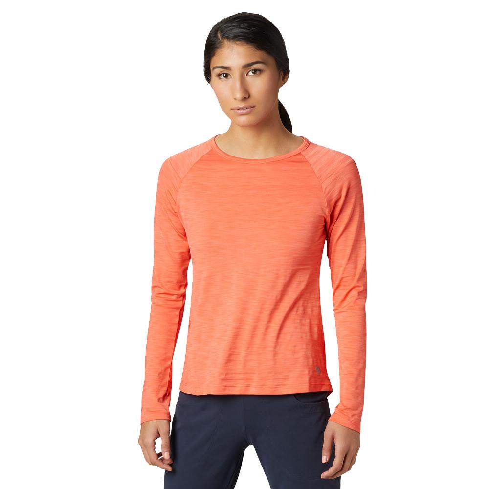 Mountain Hardwear Mighty Stripe Women's Long Sleeve Top - SS19