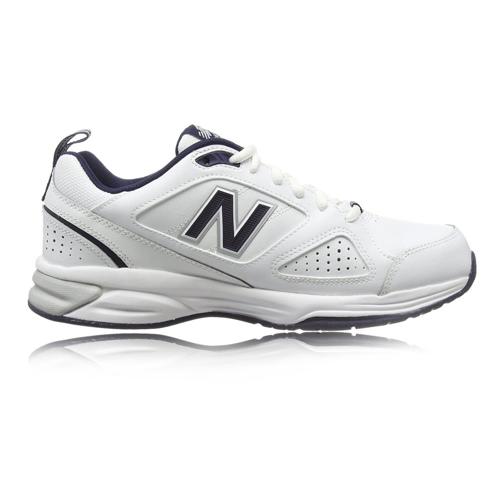 eb29a4a1baaba Details about New Balance MX624v4 Mens White Water Resistant Running Shoes  Trainers 6E Width