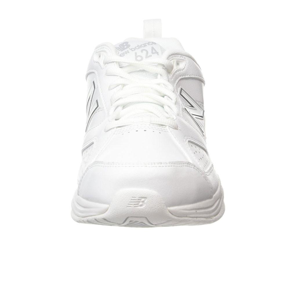 New Balance MX624V4 Mens White Cross Training Gym Shoes Trainers 6E Width