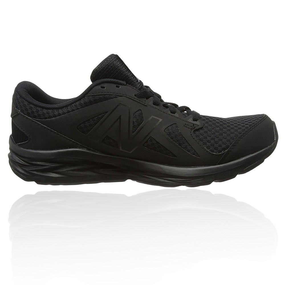new balance m490v4 mens black cushioned running sports