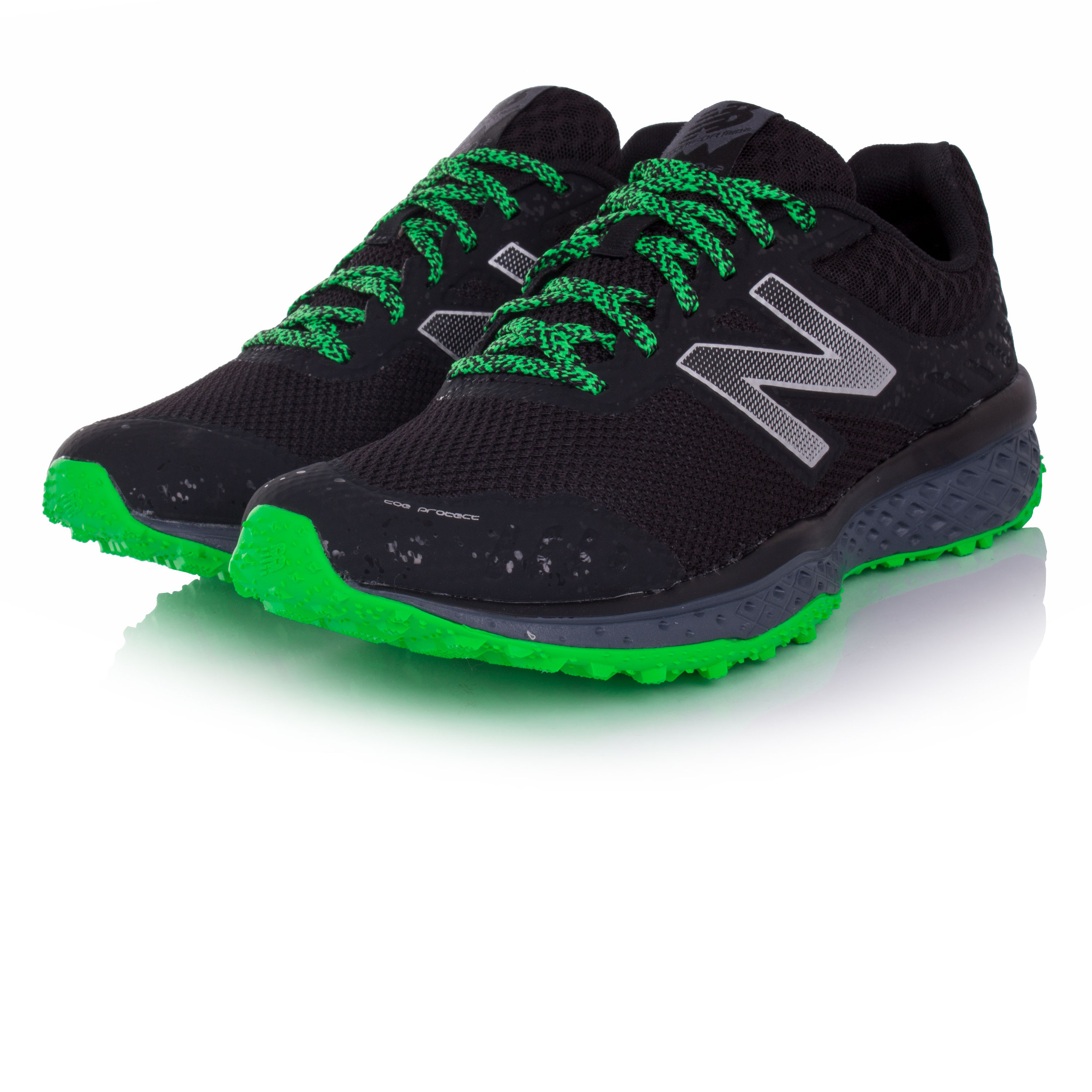 bc46387c4ccb0 New Balance MT620v2 Mens Black Trail Running Sports Shoes Trainers ...