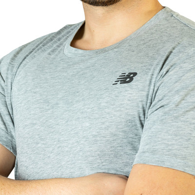 New Balance Heather Tech de manga corta T-Shirt