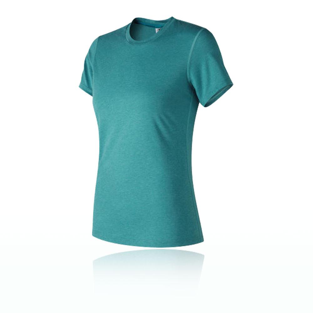 New Balance Women 39 S Heather Tech T Shirt Ss18