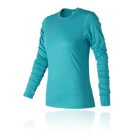 New Balance Women's Heather Tech Long Sleeve Top