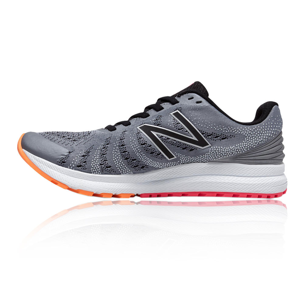 designer fashion 14863 bc1f4 New Balance FuelCore Rush v3 Womens Grey Cushioned Running Shoes Trainers