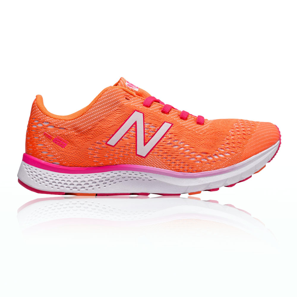 New New New Balance Mujer FuelCore Agility v2 Entrenar Gimnasio Zapatos Naranja Rosa 911df5