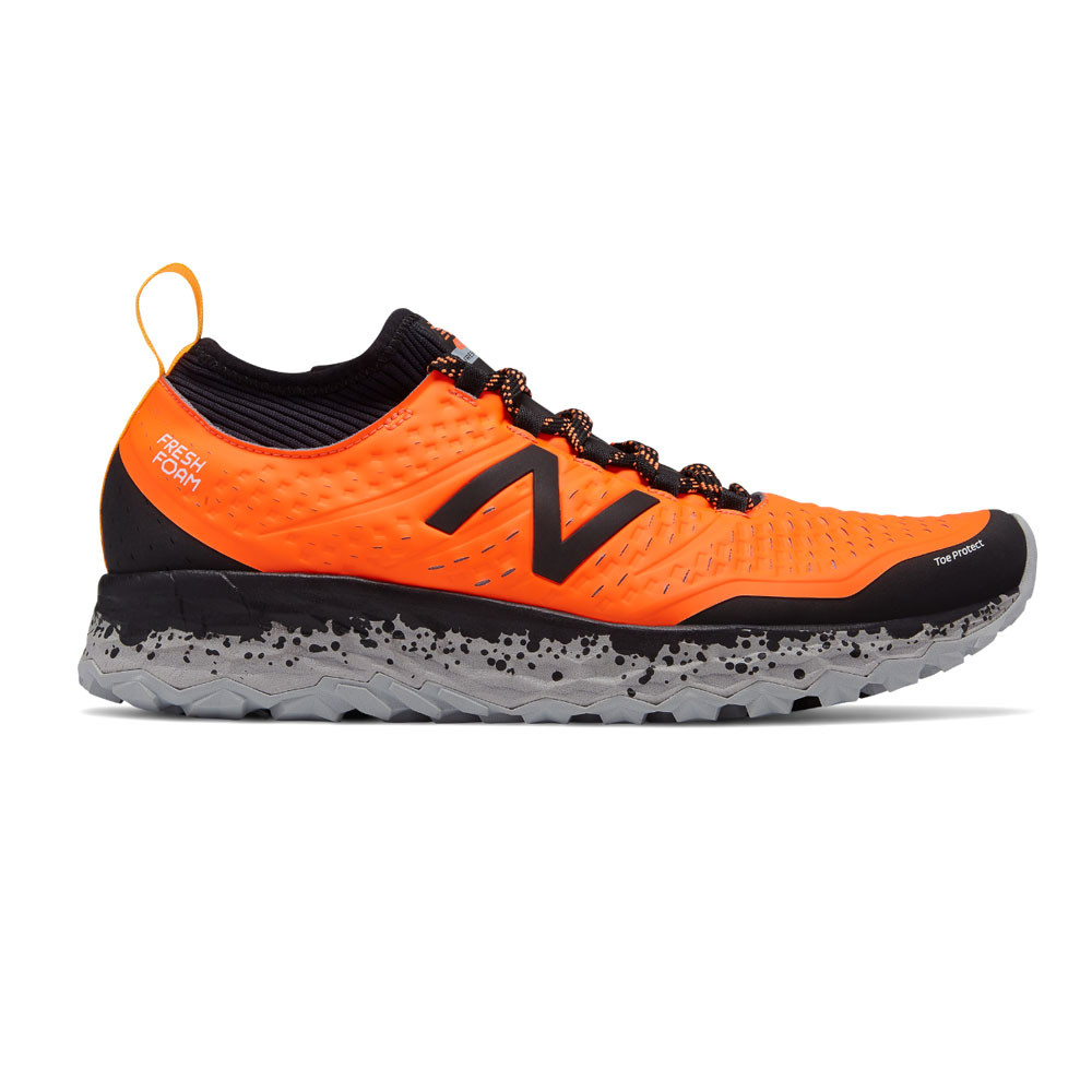 Detalles de New Balance Hombre Fresh Espuma Hierro V3 Sendero Correr Zapatos Naranja Deporte