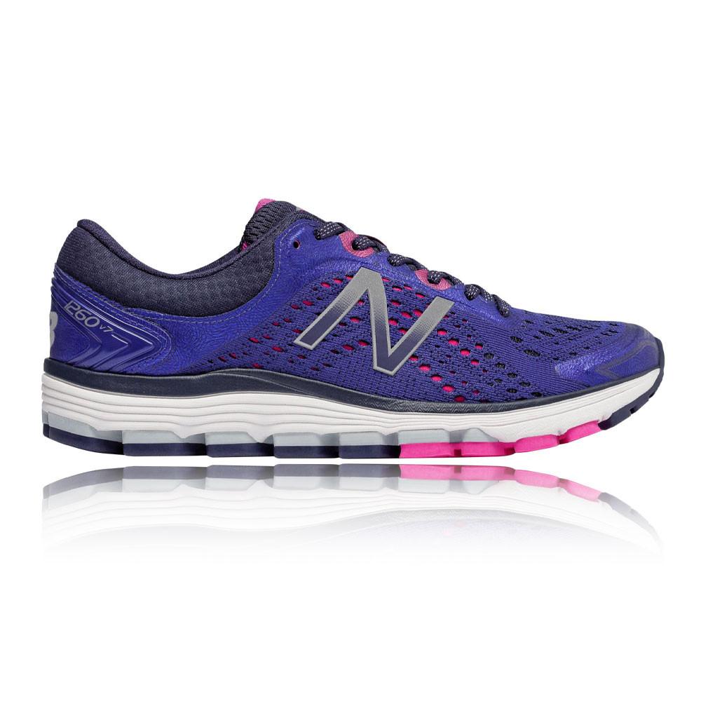 New Balance Donna 1260v7 Scarpe da Ginnastica Corsa Sneakers Blu Marino Viola