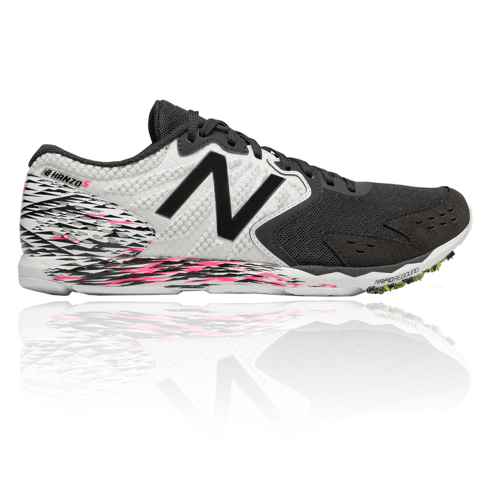 7d817278a5 New Balance Womens Hanzo S Running Shoes Trainers Sneakers Black White  Sports