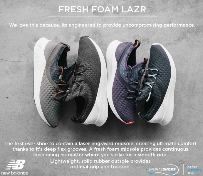 New Balance Fresh Foam LAZR HypoSkin femmes chaussures de