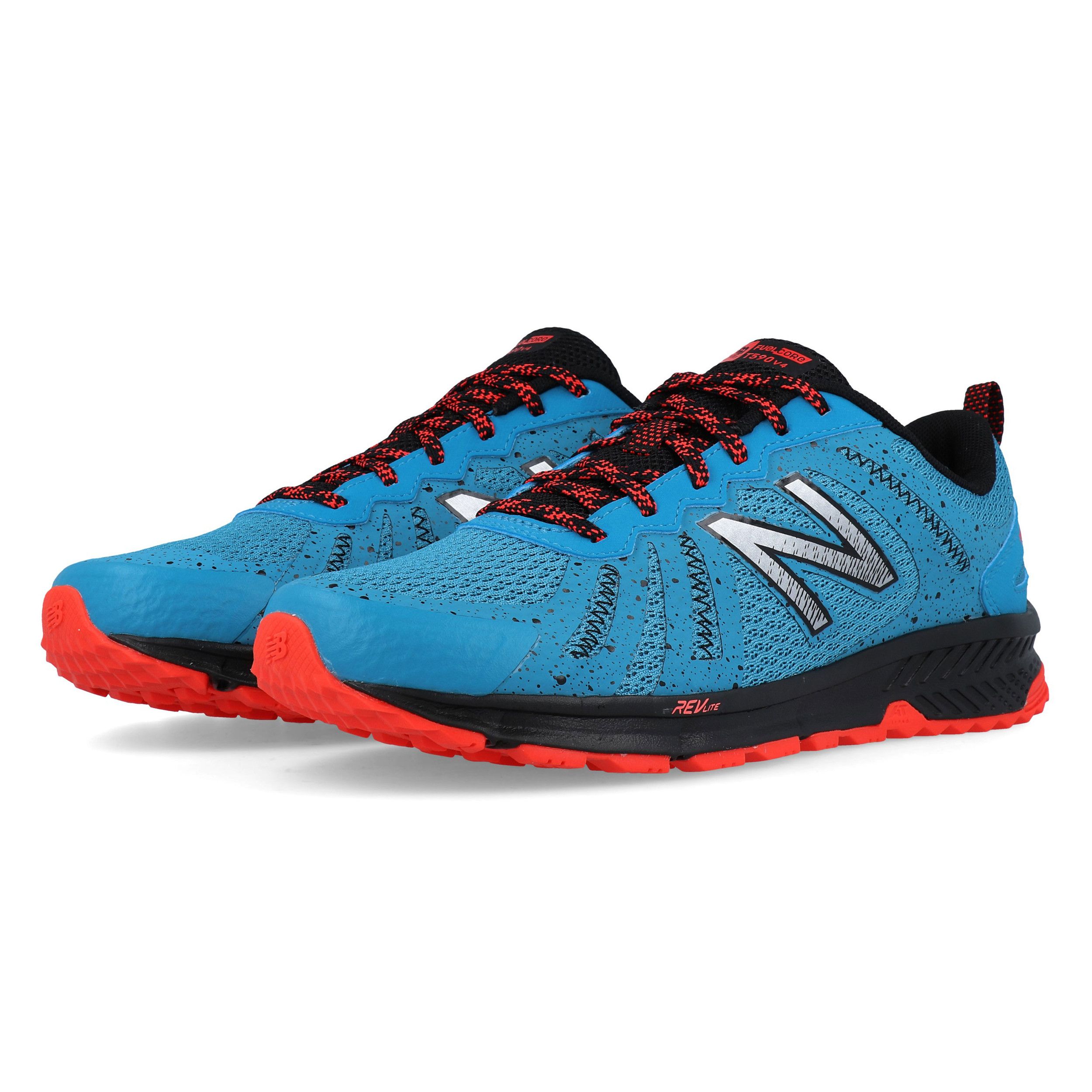 2020 uk cheap sale best online Details about New Balance Mens 590v4 Trail Running Shoes Trainers Blue  Sports Breathable