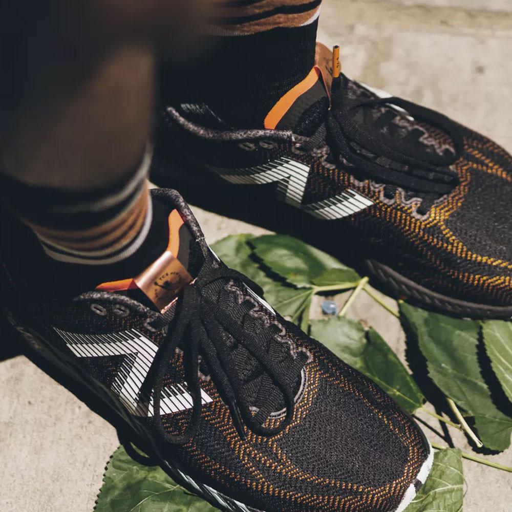 premium selection bbaae febe8 Details about New Balance Mens 1400v6 NYC Marathon Running Shoe Black  Orange Sports Breathable