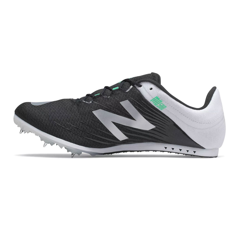 Detalles de New Balance Hombre Md500v6 Correr Zapatillas Negro Blanco Deporte Transpirable