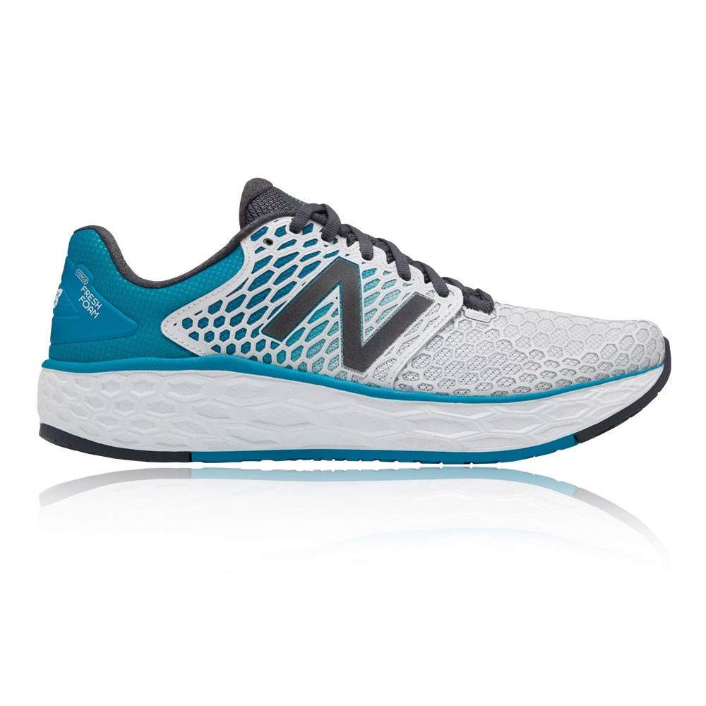 new arrival e95a5 11035 Details about New Balance Mens Fresh Foam Vongo v3 Running Shoes Trainers  Sneakers Blue White