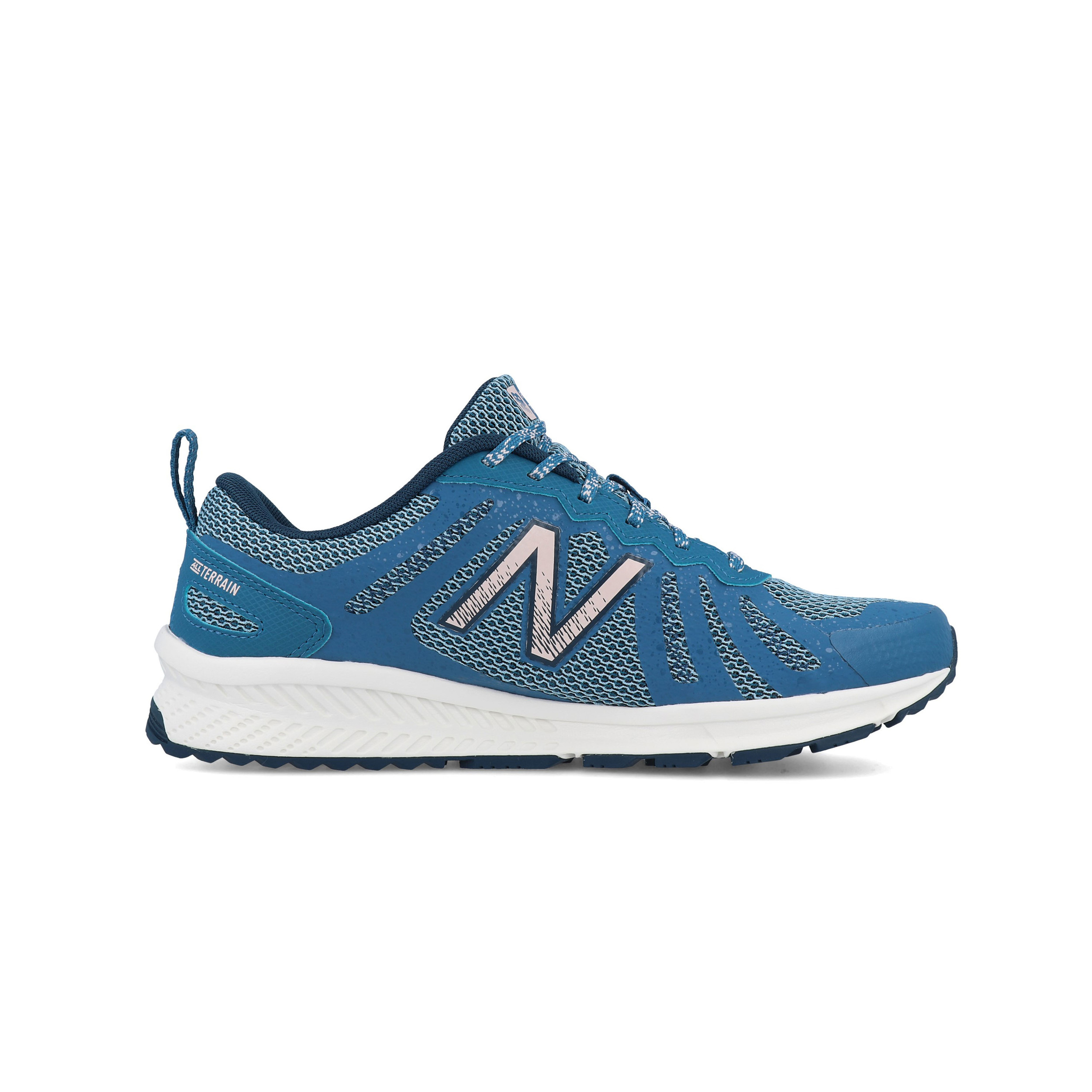 Details about New Balance Womens 590v4 Trail Running Shoes Trainers Sneakers Blue Sports