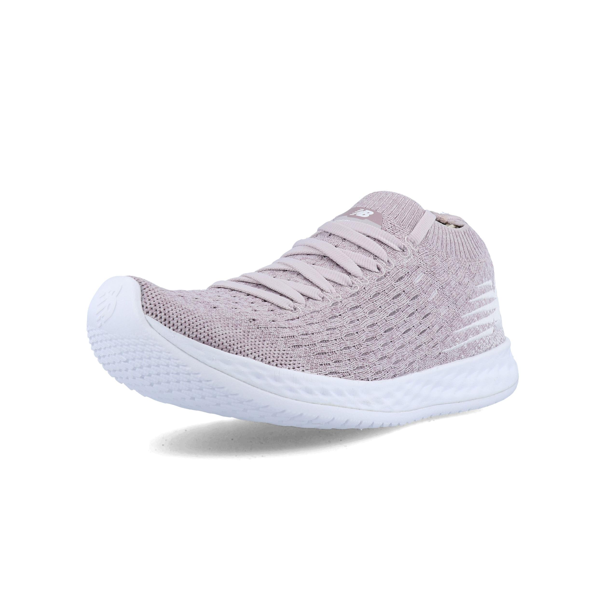 Détails sur New Balance Femme Fresh Mousse Zante Solas Chaussures Course À Pied Baskets Rose