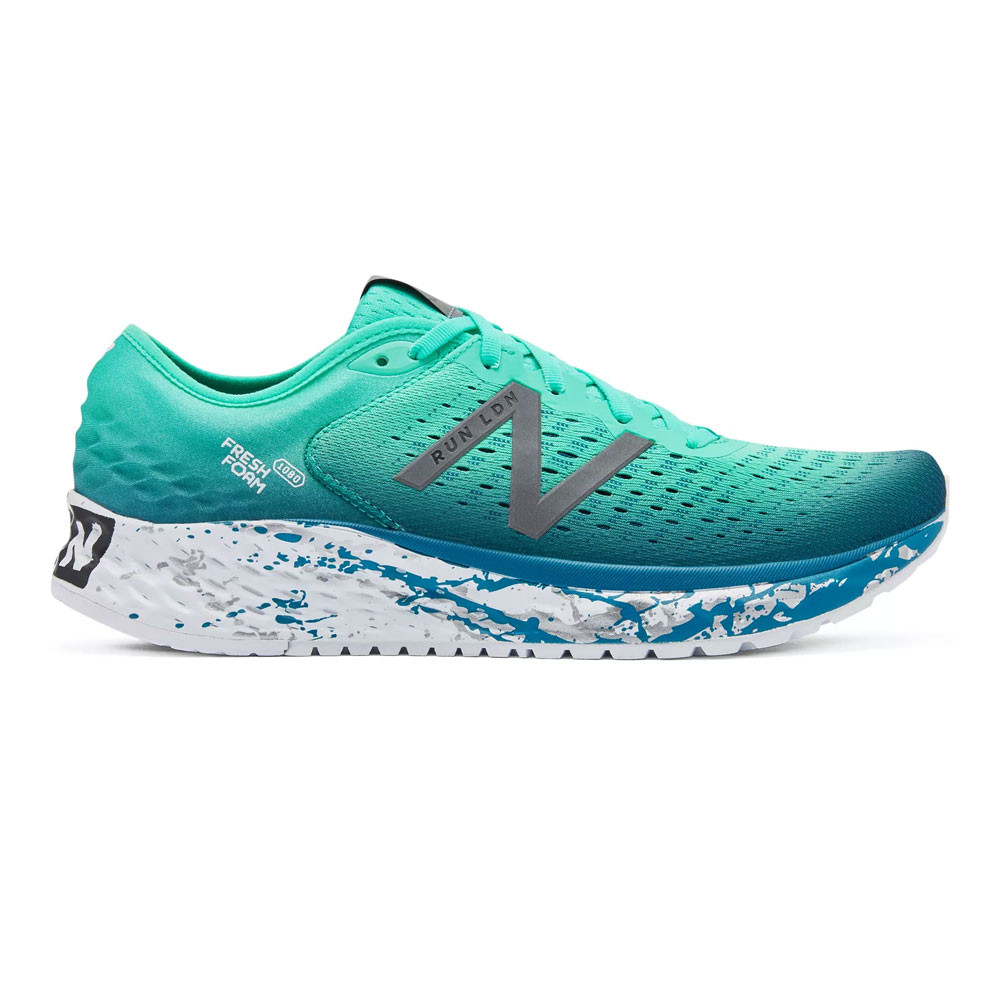Details about New Balance Womens Fresh Foam 1080v9 London Running Shoes Trainers Sneakers Blue