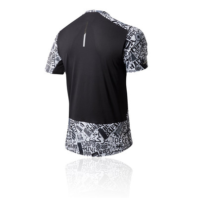 New Balance London Printed Ice 2.0 Running T-Shirt - SS19