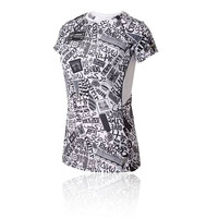 New Balance Printed London Ice 2.0 Women's Running T-Shirt - SS19