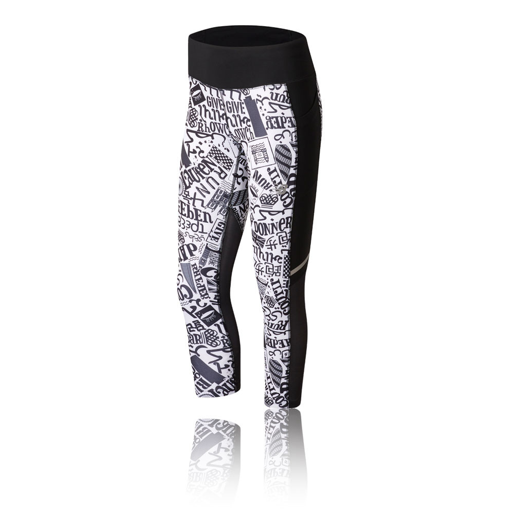 New Balance Printed London Impact Women's Capri Tights - SS19