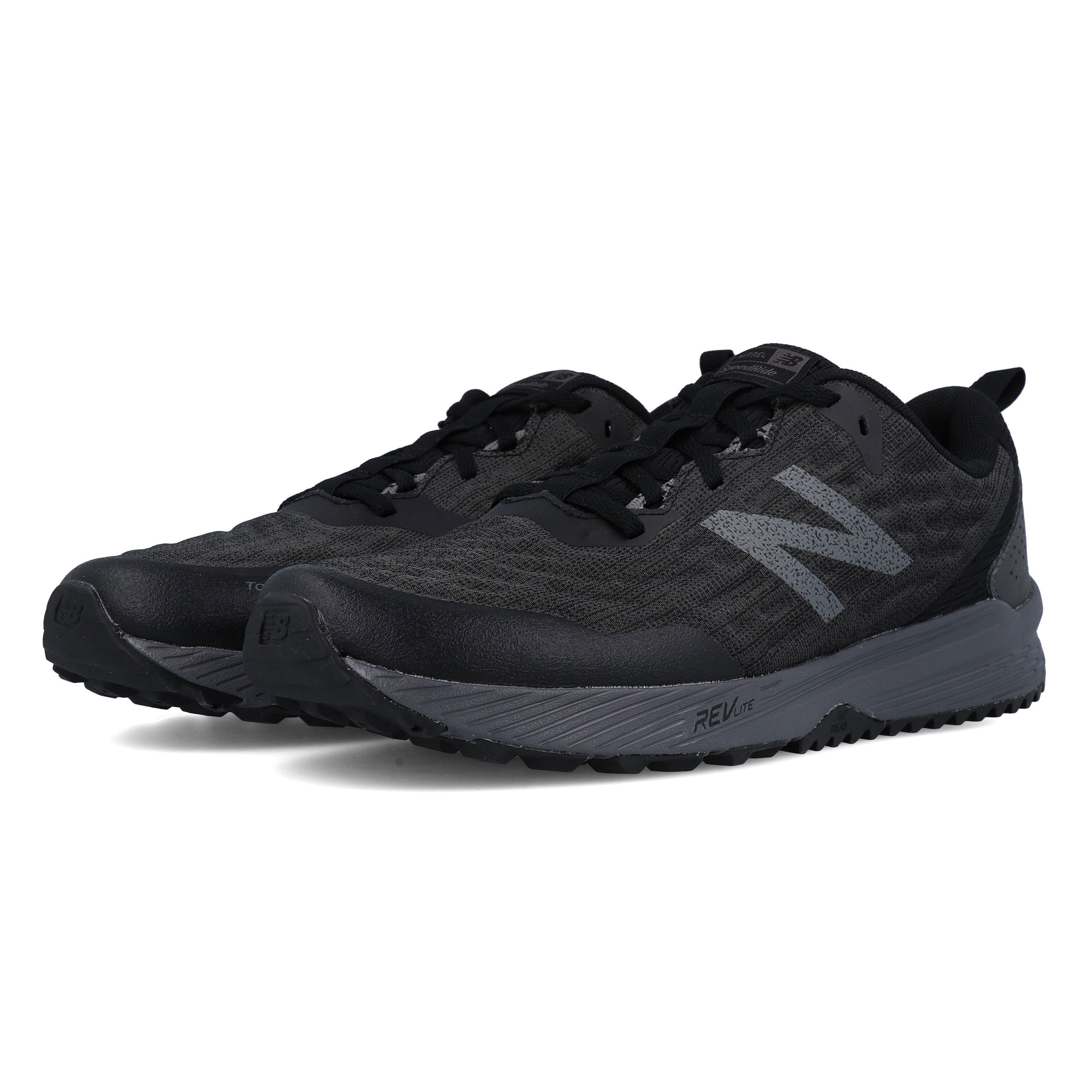 Details about New Balance Mens Fuel Core Nitrel Trail Running Shoes  Trainers Black Sports