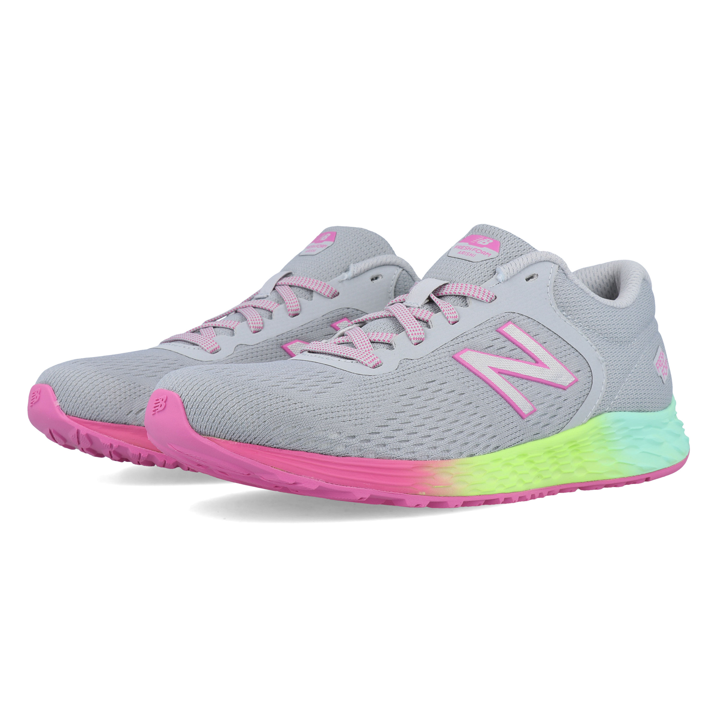 sports shoes ec813 f49f8 Details about New Balance Boys Arishi v2 Running Shoes Trainers Sneakers -  Grey Sports
