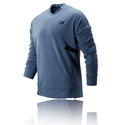 New Balance Reclaim Hybrid Crew camiseta de running - AW19